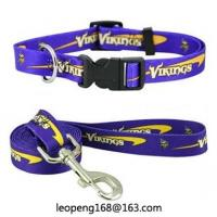 Factory Sale Dog print Leash Extra Long Lead with 2 Dual Padded Handle Pet Leash Manufactures