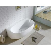 50 Inch 53 Inch  Free Standing Bathtub In Small Bathroom , Small Freestanding Corner Tub Manufactures