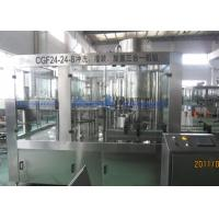 10000BPH Bottled Water Filling Machine With High Speed Large Gravity Flow Valve Manufactures
