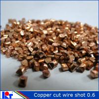 Quality Copper cut wire shot 0.8mm,1.0mm,2.0mm from Kaitai for sale