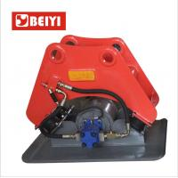 Excavator attachment BYKC vibratory hydraulic plate compactor for Hitachi ZX135-US Manufactures