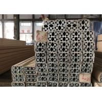 Quality Structural T Slot Extruded Aluminum Framing Systems T5 T6 Smooth Surface for sale