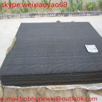 China Galvanized crimped wire mesh/sieving sand vibrating screen crimp wire mesh/crimped wire mesh price (Top Sales) on sale