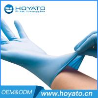 Wholesale HOYATO clean room Blue Nitrile Gloves Manufactures