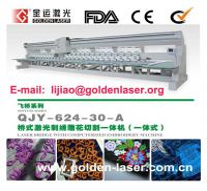 Laser Bridge Embroidery Machine Manufactures