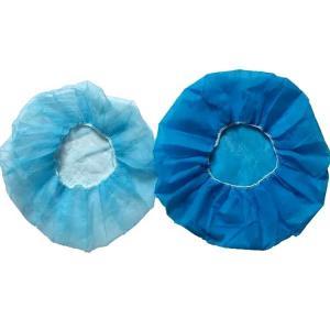 Flexible Disposable Surgical Caps Single Elastic Or Double Elastic Manufactures