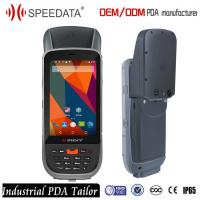 Android 5.1 Wireless RFID Handheld Reader with 134.2Khz Module , 10cm Middle Range Manufactures