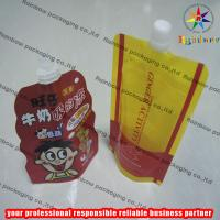 Strong Freeze Resistance Spout Pouch Packaging For Liquid Manufactures