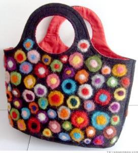 China Felt gift basket on sale