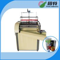Cheap Semi-automatic Paper Can Paper Jar Labeling Hot Melt Adhesive Packaging Machine for sale