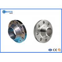 DIN Standard Steel Pipe Flange High Durability Good Mechanical Property Manufactures