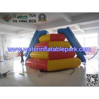 Large Inflatable Climbing Water Slide , Durable Water Park Games For Adults Manufactures