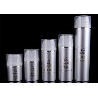 Refillable Airless Foundation Pump Bottle Cosmetic Packaging Screen Printing