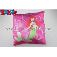 High Quanlity Pillow Case Soft Baby Cushion with Printting Little Mermaid Girl Manufactures