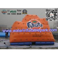 Outdoor Advertising Inflatable Water Park , Inflatable Water Climbing Iceberg Manufactures