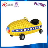 Buy cheap playground Corn kid ride with flash light and steering wheel for amusement park from wholesalers