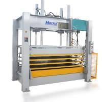 China High efficiency 10T Woodworking Veneer Hot Press Machine for Plywood and MDF Door on sale