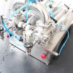 Bottle Filler / Liquid Filler Machine Double Nozzles Juice Vial Filling Machine Manufactures