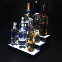 Customized Acrylic Led Light Box Wine Bottle Display Made Of 3mm Material Manufactures