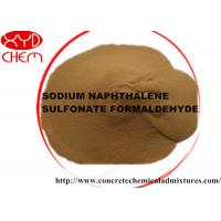 Cheap Powder naphthalene superplasticizer / naphthalene sulphonate formaldehyde Low Na2SO4 Content for sale
