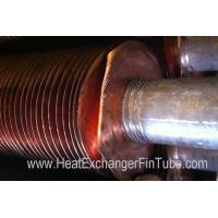 Aluminum & Copper Fins Are Embedded Into SMLS Stainless Steel Tube of TP304 / TP304L Manufactures