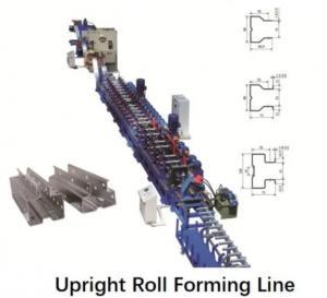 China 1.8mm Metal Sheet Shelf Column Roll Forming Equipment on sale