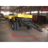 3 Axles 60t Low Bed Full Trailers For Heavy Machinery Transport Manufactures