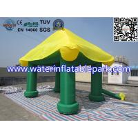 Mini Oxford Fabric Outdoor Inflatable Event Tent , Inflatable Summer House Manufactures