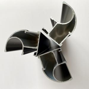 Electrophoresis Curtain Wall Anodized Aluminum Profiles Manufactures