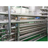 Quality 143℃ SUS316L High Temperature Sterilizer Tubular UHT Pasteurizer 3mm Thick for sale