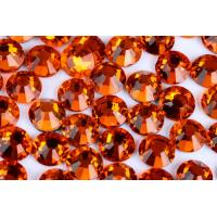 Round Heat Set Rhinestones / Fashionable Glass Crystal Rhinestones Manufactures