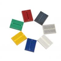 China Mini Reusable Full Color Electronics Breadboard Kit Without Buckle on sale