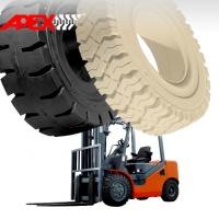 APEX Forklift Solid Tire for 5, 8, 9, 10, 12, 15, 16, 20, 24, 25 inch solid tyre Manufactures