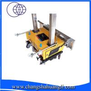 China mini lime gypsum auto plaster machine in cheap price for India market on sale