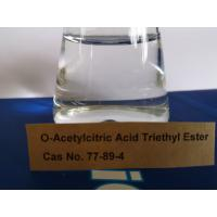 China Triethyl Citrate Plasticizer Non - Toxic For Cosmetics, Personal Care Products on sale