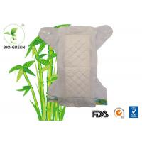 Soft Flushable Bamboo Nappy Liners , White Bamboo Biodegradable Diapers Manufactures