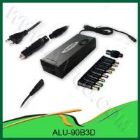 90W 3in1 AC/ DC Universal Laptop power supply for Home,  Car and Airplane use Manufactures