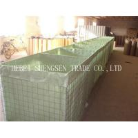 Hexagonal Hole Shape Stone Cage Wire Mesh / Gabion Wall Baskets For Fence Manufactures