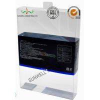 PET Plastic Garment Sleepwear Packaging Boxes Glossy Finished Varnish Film Manufactures
