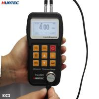 China Plastic 0.75mm - 300.0mm measure range Ultrasonic thickness gauge , UT thickness gage on sale