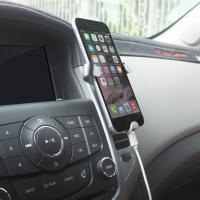 Clamp Triangular Smartphone Mobile Phone Holder Car Air Vent Mount Easy To Install Manufactures