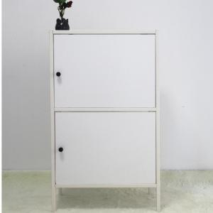 Customized Nightstand MDF 600mm Steel Bedside Cabinet Manufactures