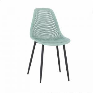 Dining Room Nordic Gray SGS 82MM PP Plastic Chairs Manufactures