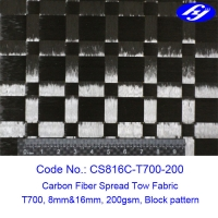 Fatigue Resistance 200gsm 16mm Interval Spread Tow Fabric Manufactures