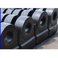 Heat Resistance Rock Crusher Spare Parts Alloy Hammer Head High Toughness Impact Strength