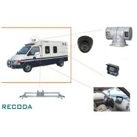 1/3 Sony CCD 360 Degree Rotation Armed Escort Vehicle Security Camera System Manufactures