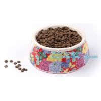 Lovely Personalized portable pet dog food water bowl ceramic plastic, Plastic pet bowl /PP pet dish for dog /food pail f Manufactures