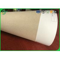High Stiffness 250g - 450g Single Side Coated Duplex Board Black Back With FSC Certification Manufactures