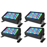 High Quality CE RoHs Listed 54x3W RGBW DMX LED Wall Washer Light Outdoor Manufactures