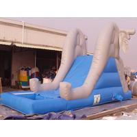 Commercial Inflatable Water Slide Pool For Kids Amusement Games Manufactures